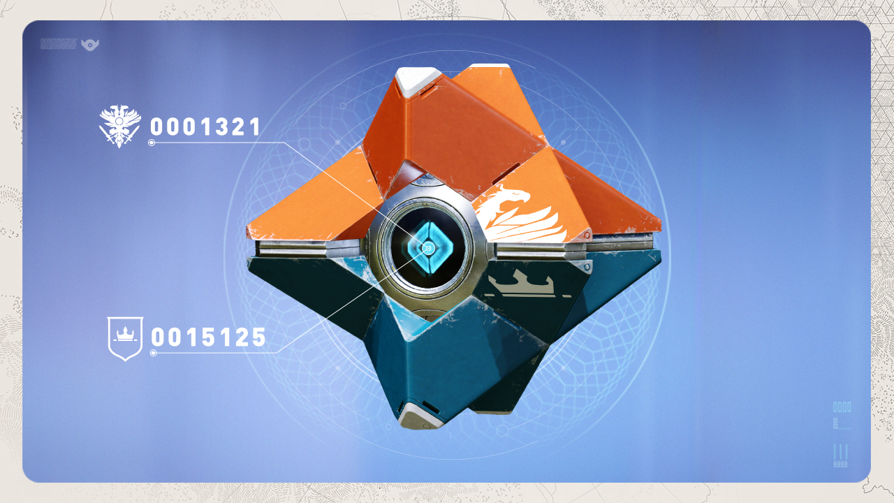 Papercraft .pdo file template for Destiny - Ghost. | Free stencils ... | 720x1280