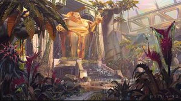Kaiserlicher Garten im Destiny 2 Universum
