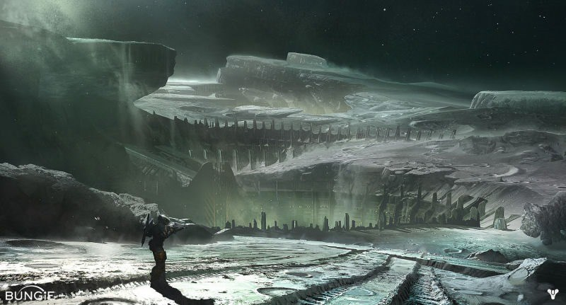 Mondoberfläche in Destiny 1