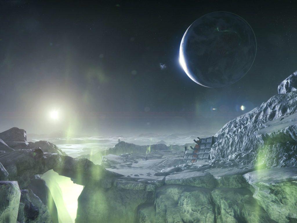 Teile des Mondes in Destiny 1