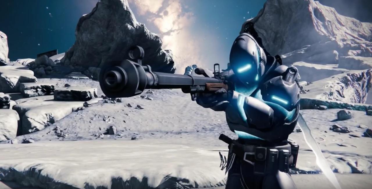 Destiny 1 Waffe: Kein Land Außerhalb