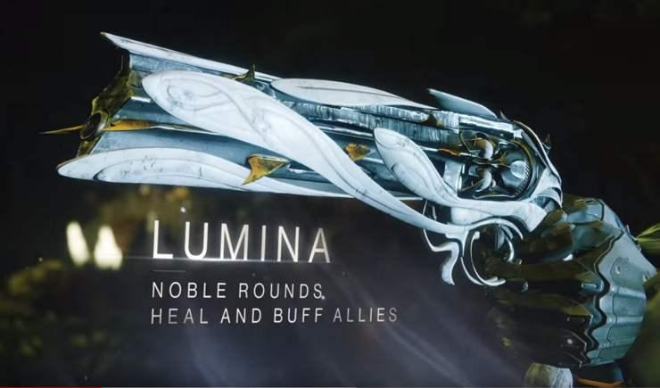 Der Lumina-Katalysator verstärkt bestehende Werte der Waffe.