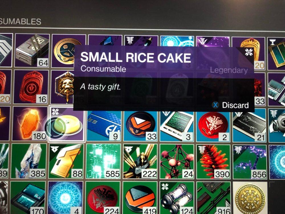 small rice cake