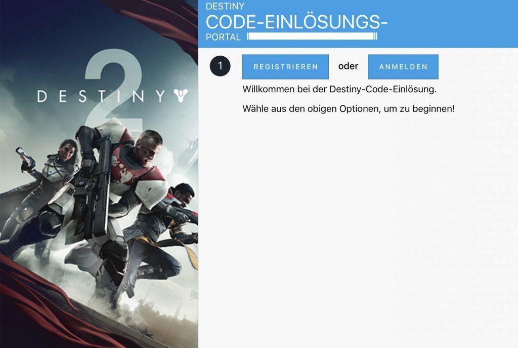 Destiny 2 Code-Einlösung Embleme