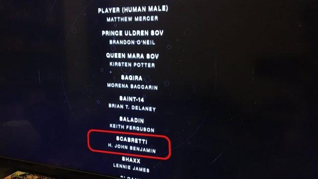 Destiny 2 Mysteriöser Character