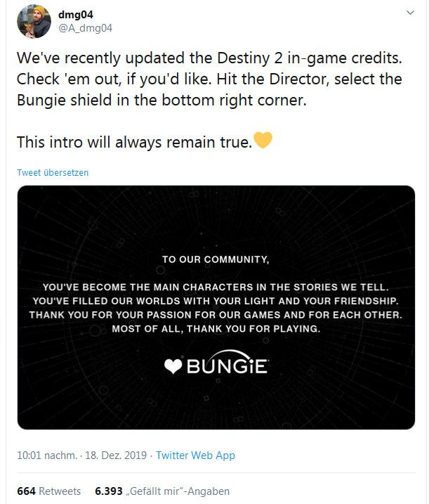 Destiny 2 Mysteriöser Charakter