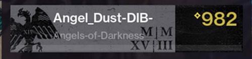 Destiny 2 Korridore der Zeit Emblem