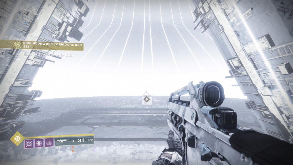 Destiny 2 Korridore der Zeit Eingang Tresor