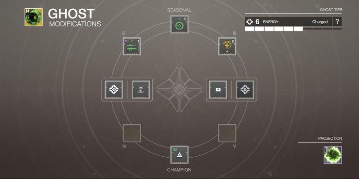 Konzept eines Geist-Mod-Systems