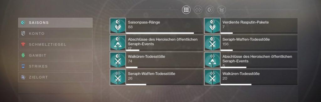 Destiny 2 Stat-Tracker