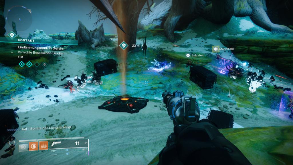 Destiny 2 Kontakt Besessene