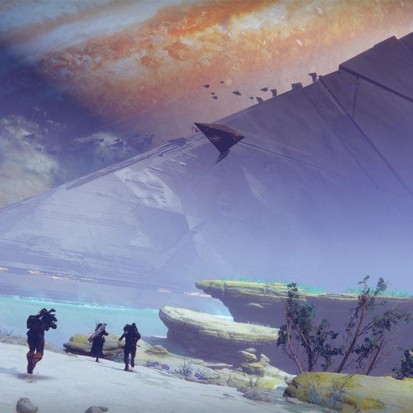 Dunkelheit über Io