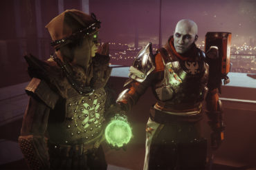 Eris and Zavala in Season 11