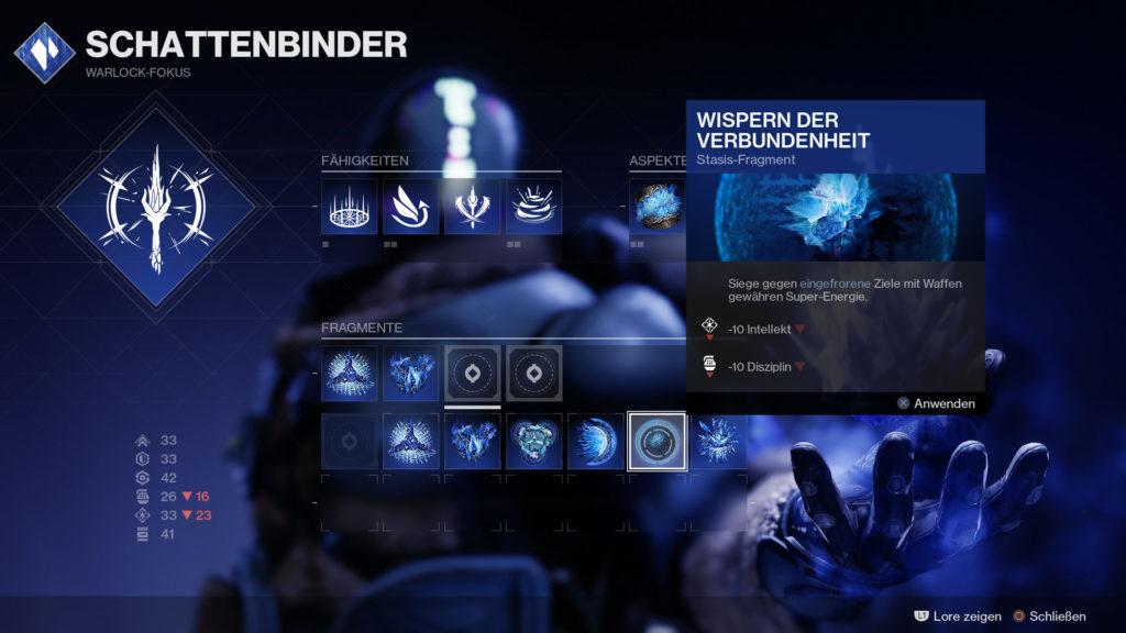 Destiny 2 Wispern der Verbundenheit - Fragment