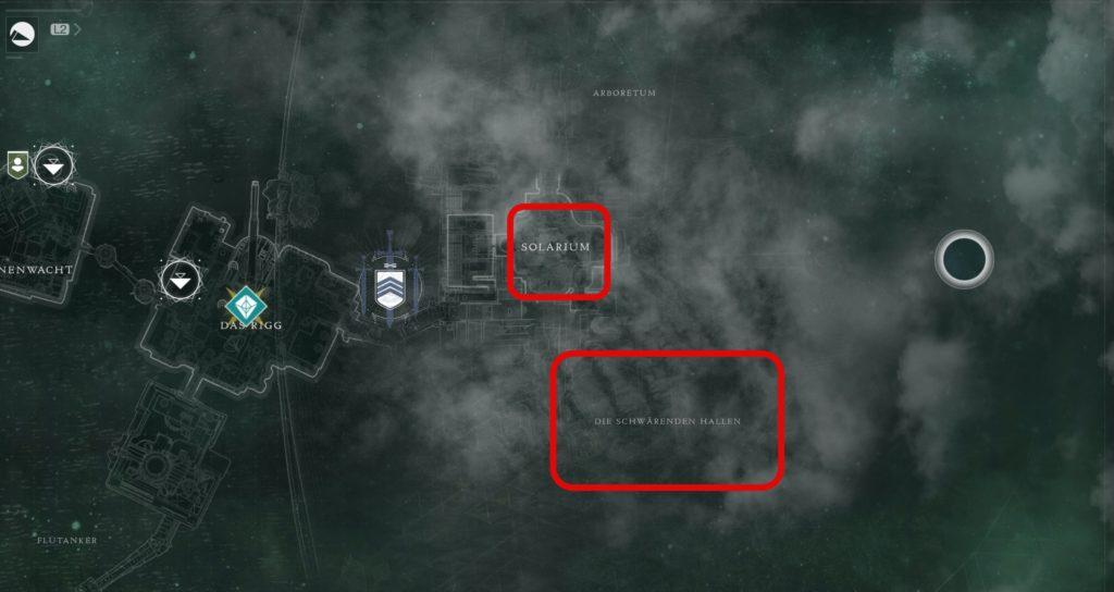 Titan Karte - Quest Auserwählte des Reisenden