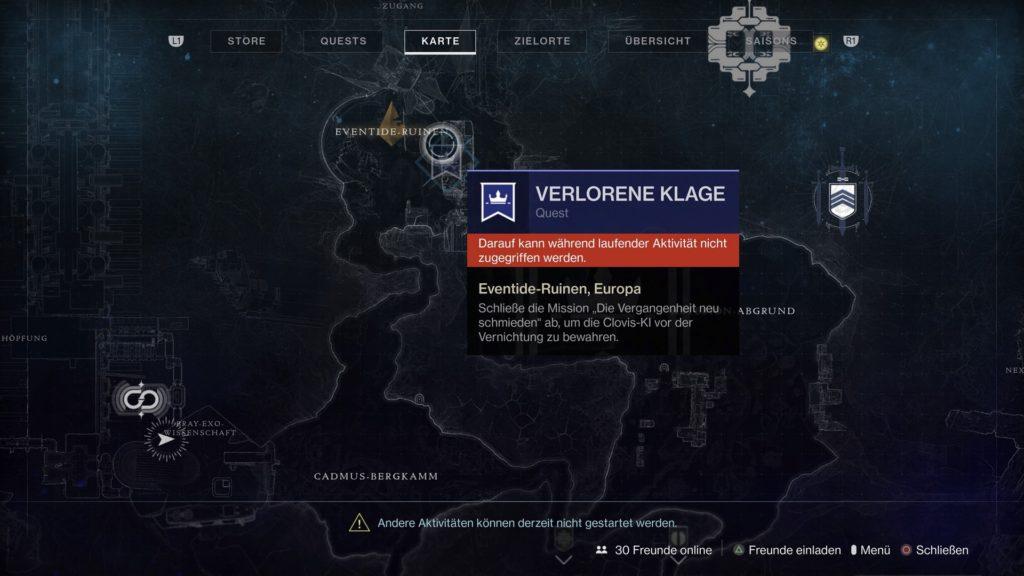 Destiny 2 Die Klage