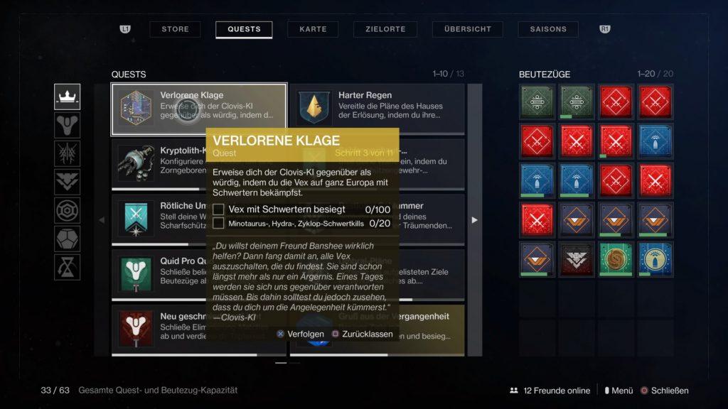 Destiny 2 Questschritt