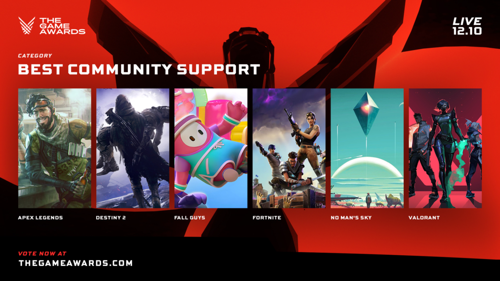 Game Awards - Best Community Support 2020