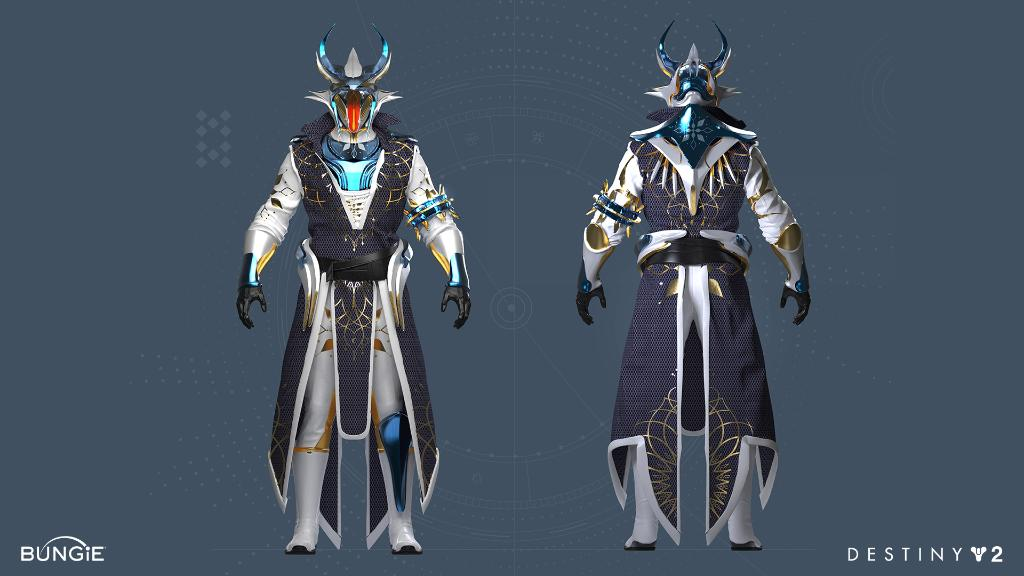 Warlock Anbruch-Rüstung
