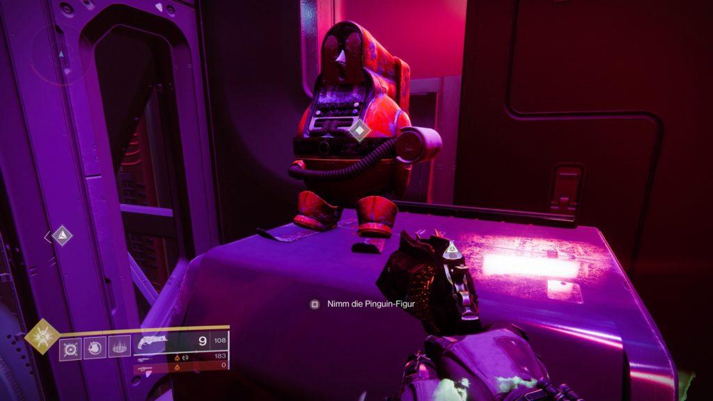 Destiny 2 Pinguin