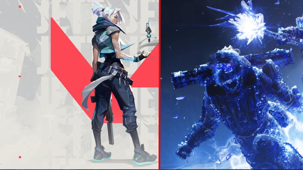 Valorant und Destiny 2