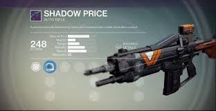 Shadow Price - Destiny 1