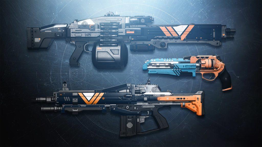 Meister-Waffen mit weiteren Perks