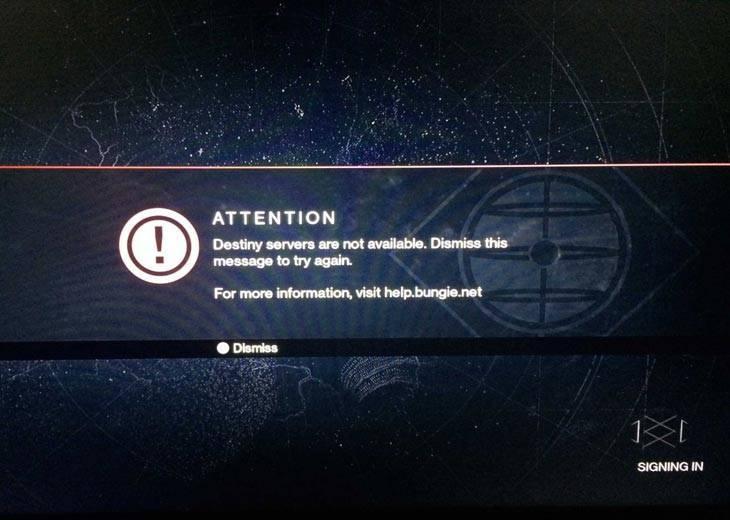 Destiny-servers