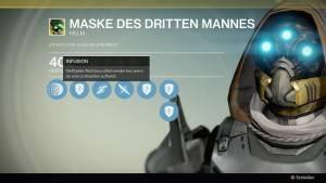 Maske des dritten Mannes
