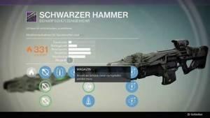 Schwarzer Hammer