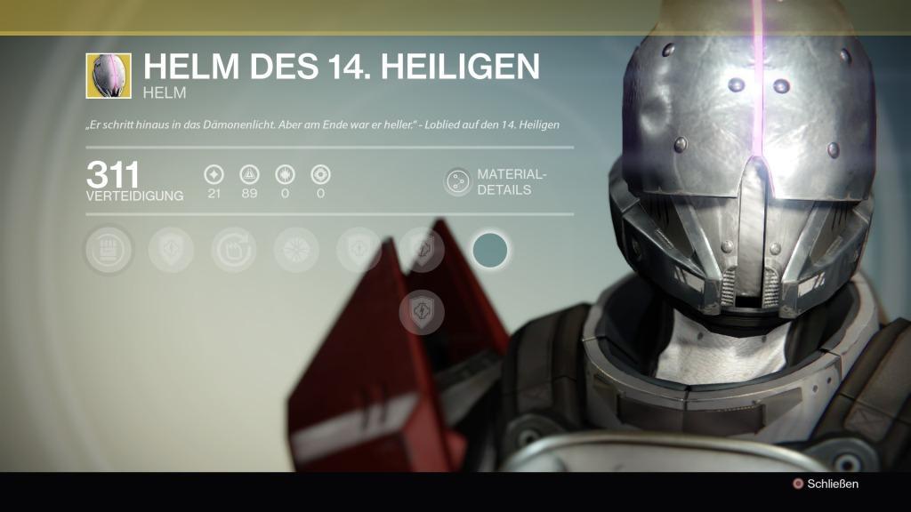 Helm des 14.Heiligen