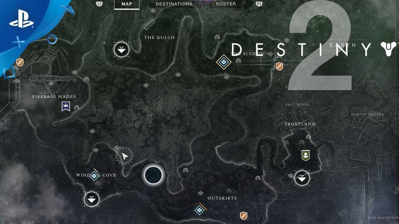 Destiny 2 Raid Karte.Ein Blick Auf Die Neue Karte Von Destiny 2 Destiny Infobase